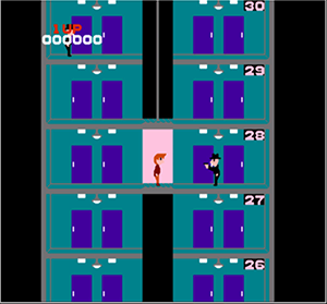 【なつゲーソフト】エレベーターアクション